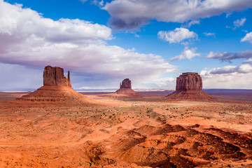 The Mittens of Monument Valley