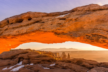Mesa Arch at Dawn