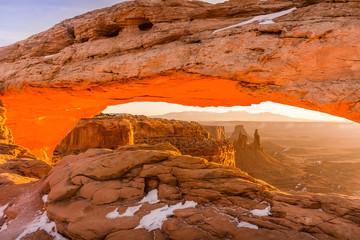 Beneath Mesa Arch
