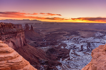 Canyonlands National Park at Sunrise