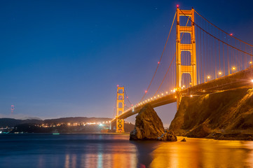 Golden Gate over the Bay