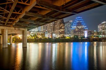 Under the 1st Street Bridge