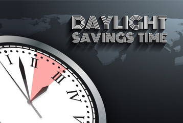 Banner for change your clocks message for Daylight Saving Time