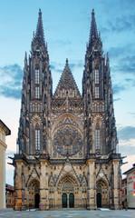 Prague - St. Vitus cathedral in Castle