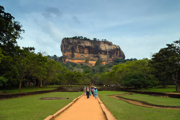 Sigiriya or Sinhagiri is an ancient rock fortress, Sri Lanka