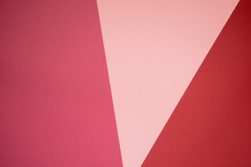 Red and pink color paper, abstract background