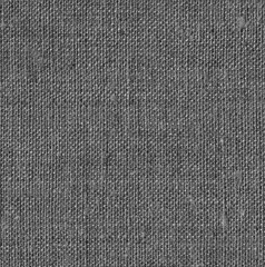 Dark canvas  background. Coarse textile texture. Highly detailed rough fabric.