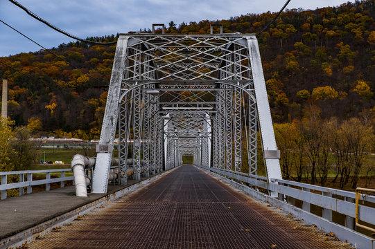 Historic Gray Hued Retreat Bridge - Luzerne County, Pennsylvania