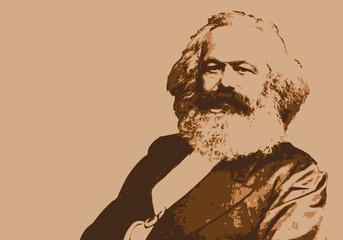 Marx - portrait - communisme - Karl Marx - personnage historique - révolution - capitalisme