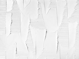 White background. oil paint. Brush stroke & palette knife texture.