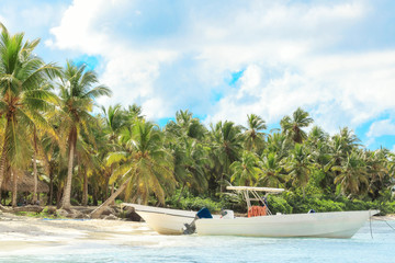 Wall Murals Caribbean Vacation in Dominican Republic