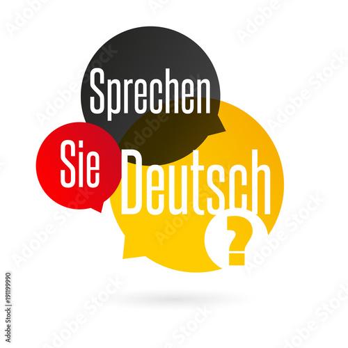 Sprechen Sie Deutsch? Stockfotos und lizenzfreie