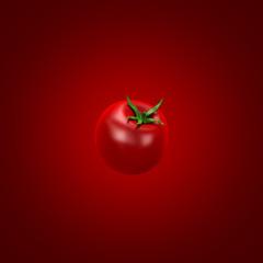 Ketchup background. 3d illustration, 3d rendering.