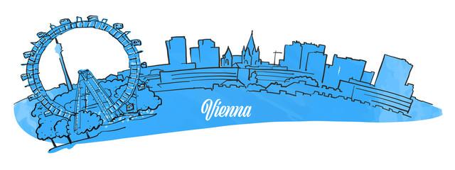 Vienna Citiyscape Panorama