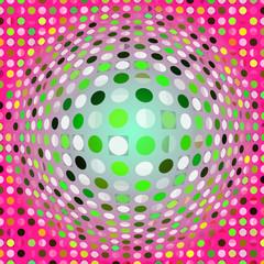 colorful digital artwork dots