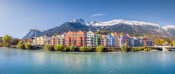 Wall Mural - Panoramic view of Innsbruck, Tyrol, Austria