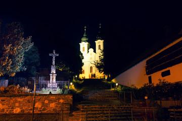 Tihany Abbey is a Benedictine monastery in Hungary