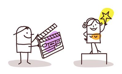 Cartoon Characters and Cinema