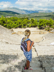 The amphitheater Epidaurus.