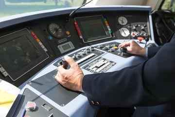 Train driver. Railroad engineer.