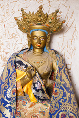 Buddhist image in the Matisi Caves, Gansu-China
