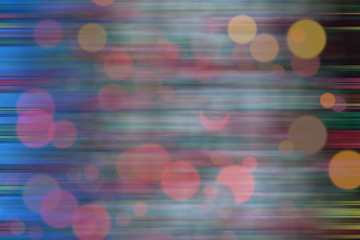 Colorful background with bokeh effect and blur.