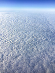 Cloudscape from plane