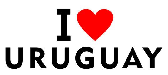I love Uruguay