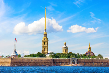 St Petersburg in summer