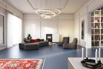 Altbau Wohnung Büro