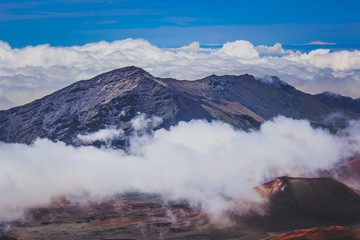 Top of Haleakala Crater
