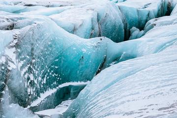 Printed kitchen splashbacks Glaciers close up view of a glacier