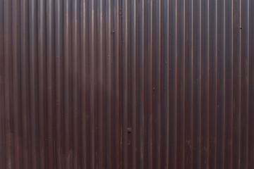 Corrugated zinc texture background