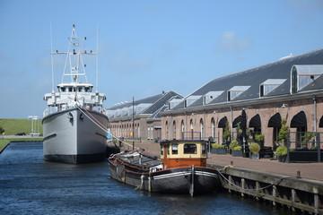 Museumshafen in Den Helder