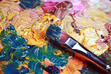 смешивающая краска