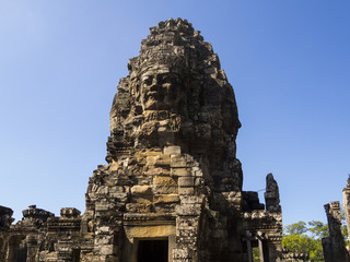 Bayon Temple in Angkor Temples in Cambodia