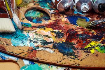 Смешанные масляные краски