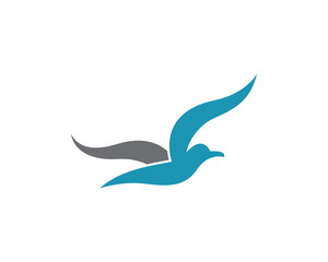 Seagull vector icon