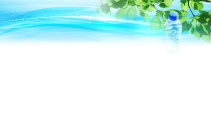 ペットボトル ミネラルウォーター エコロジーのイメージ