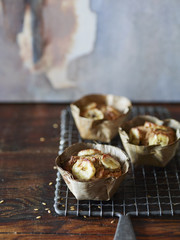 Vegan Banana Walnut Muffin