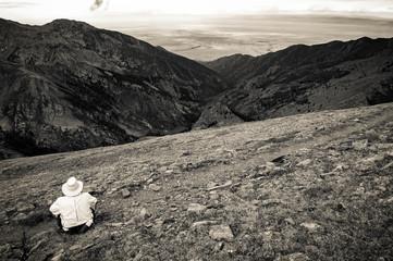 Mountainside Contemplation