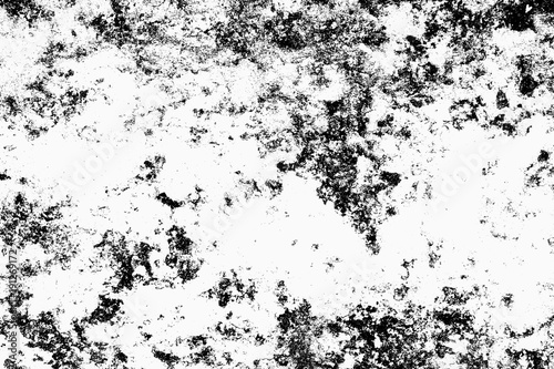 Grunge black and white Urban texture  Place over any object