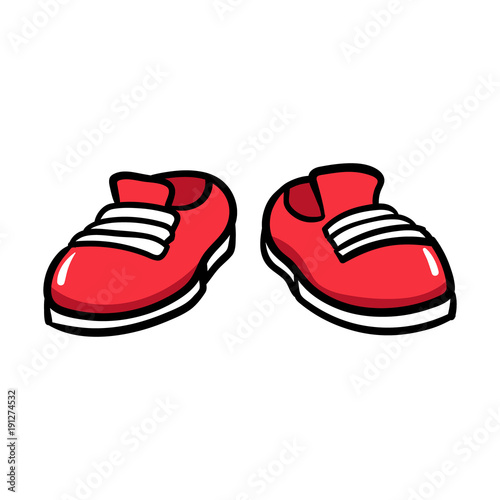 cartoon pair of shoes stock image and royalty free vector files on