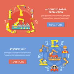 Robotic Arm Banner Set