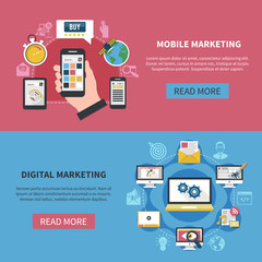 Digital Marketing Horizontal Banners