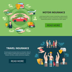 Insurance Horizontal Banners
