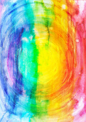Creative vibrant watercolor background.