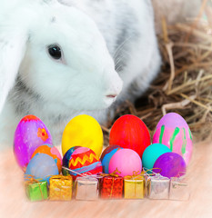 Rabbits and eggs on Eaters.