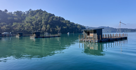 Sun Moon Lake is one of the most popular tourist destinations in