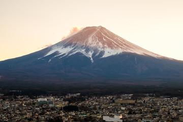 Sunset at mount fuji san, Japan